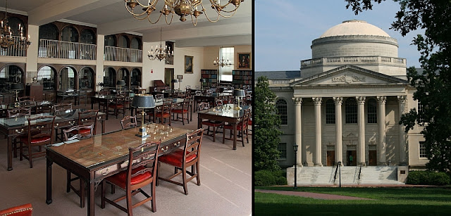 The Louis Round Wilson Library is a library at the University of North Carolina at Chapel Hill.[