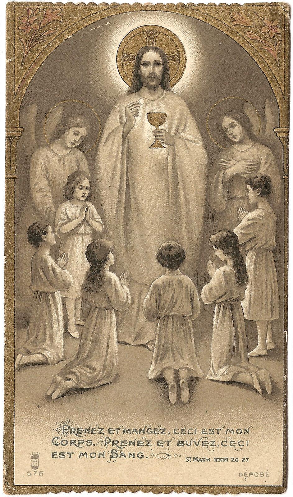 Corpus Christi Alexandria S Holy Cards