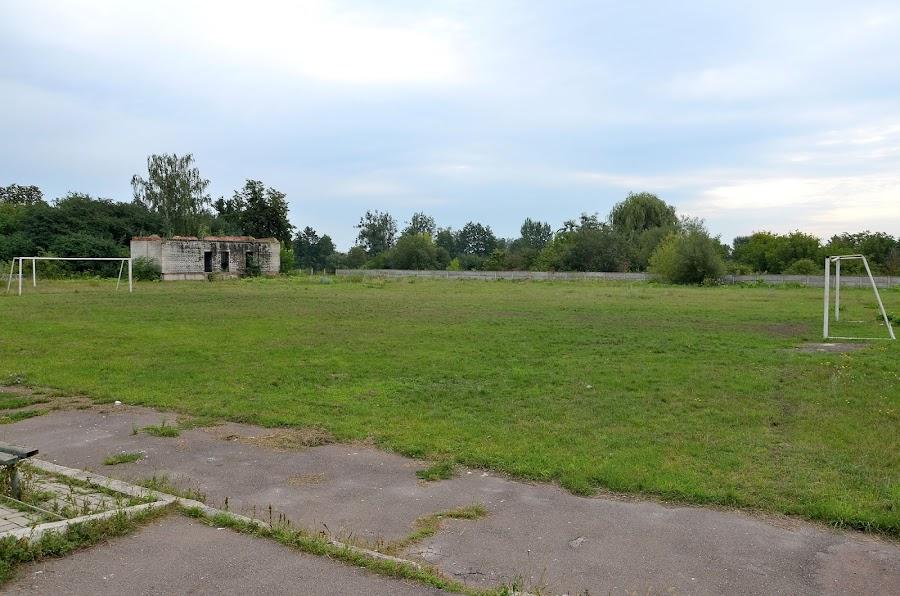 Стадион. Село Вересы