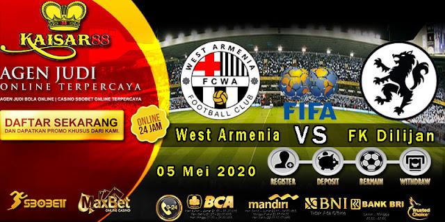 Prediksi Bola Terpercaya Liga International FC West Armenia vs FK Dilijan 05 Mei 2020