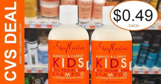 SheaMoisture Hair Care CVS Deal 3-14-3-20
