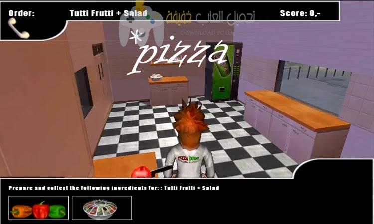 تحميل لعبة Pizza Dude للكمبيوتر مجانا مضغوطة