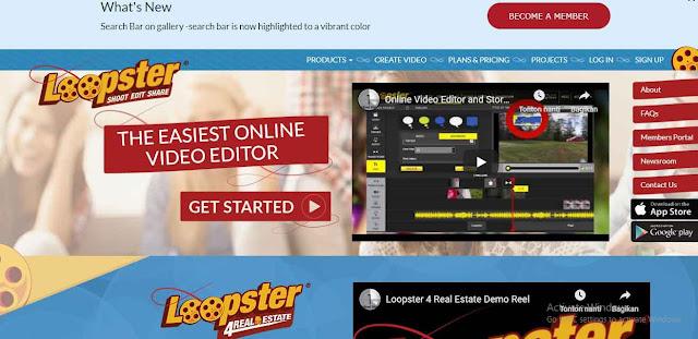 Loopster di software yang satu ini memberikan kemudahan bagi siapapun pengguna nya, kemudian didalamnya terdapat macam-macam tool yang membuat hasil editan bak seorang professional