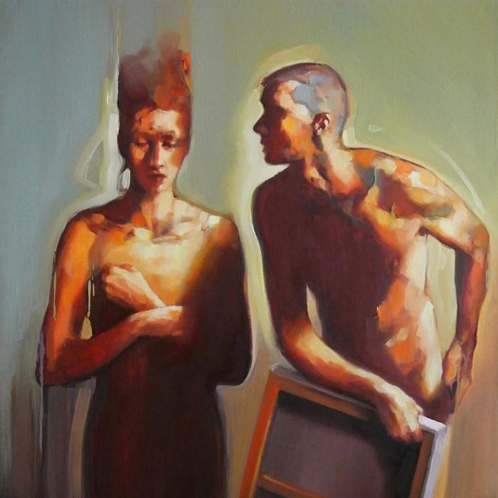 Французский художник. Olivier Massebeuf