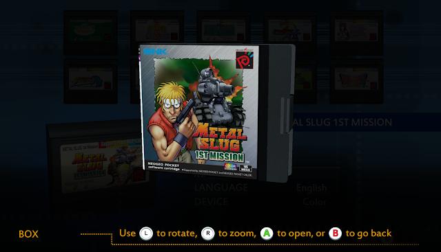 Análisis:  NeoGeo pocket Color Selection Vol.1 Steam Edition