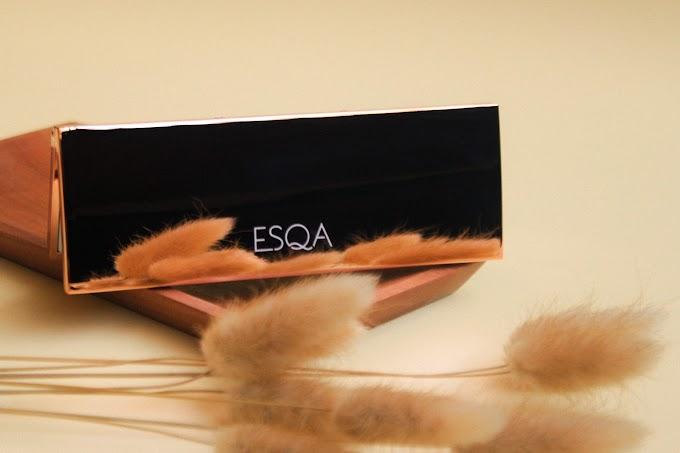 Review Esqa The Goddess Cheek Palette - Athena
