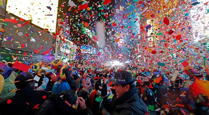 New year eve in New York City