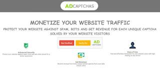 AdCaptchas, monetiza tu web con captchas