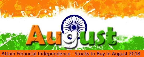 Glorious Indian Stocks to Buy this August 2018 : Post Feature Image