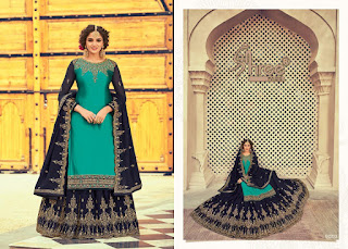 Shree Fab Florina  Wedding Georgette Salwar Kameez Collection