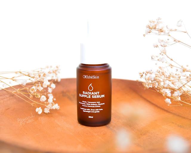 [Review] Elsheskin Radiant Supple Serum   Serum Pencerah Wajah Cocok untuk Kulit Sensitif