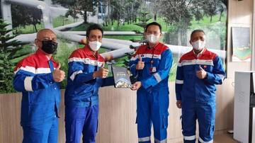 Dukung Geothermal, Komisaris Pertamina Kunjungi PLTP Kamojang