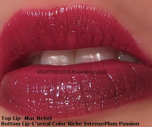 Mac Rebel  Lipstick Dupe