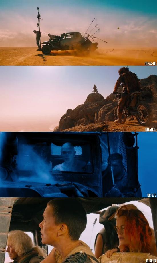 Mad Max Fury Road 2015 BRRip 720p 480p Dual Audio Hindi English Full Movie Download