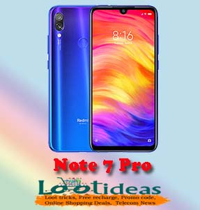 Redmi Note 7 Pro All Details