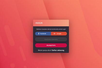 Membuat Form Login Seperti JalanTikus.com - HTML