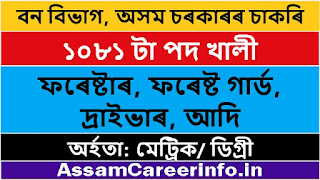 Assam-Forest-Department-Recruitment-2020