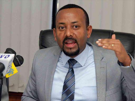 Ethiopia Prime Minister Abiy Ahmed photos