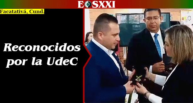 Solo un servidor facatativeño fue condecorado en los 50 años de la Universidad de Cundinamarca.