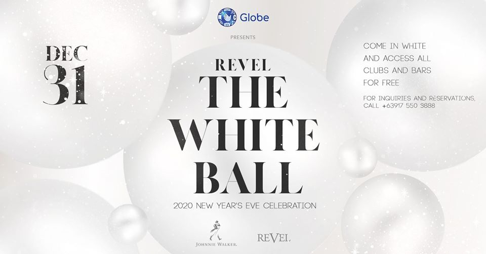 The White Ball: A New Year's Eve Party by Revel at The Palace