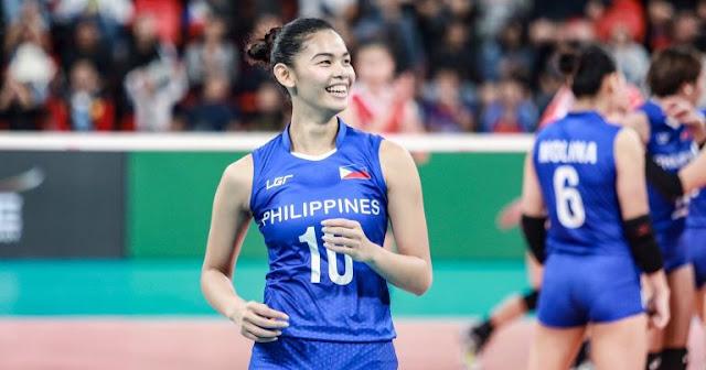 Tuyển thủ nữ Majoy Baron (Philippines) từ bóng chuyền đến thời trang