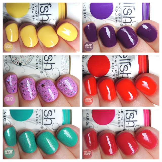 Gelish - Rocketman Collection review and swatches