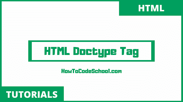 HTML Doctype Tag