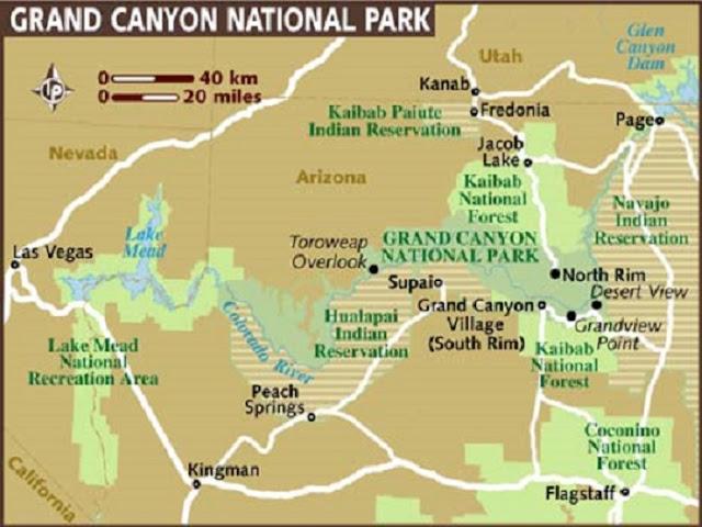 Onde ficar no Grand Canyon: Melhores regiões