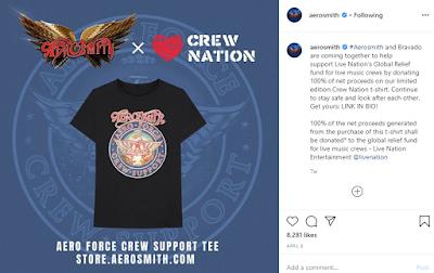 Aerosmith Crew Support