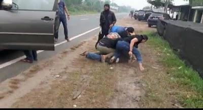 Dua Terduga Jaringan LP Palangka Raya, Terciduk Petugas BNNP Kalteng
