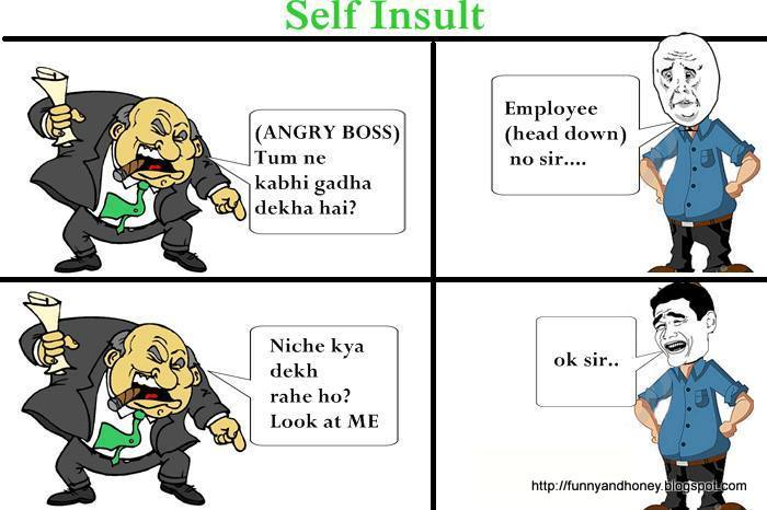 funny conversation between boss and employee relationship