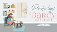 Logo Concorso ''Perchè Leggi Darcy ? '': vinci gratis una sorpresa Darcy Edizioni
