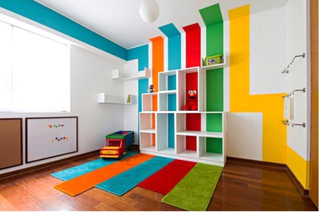 ديكورات حوائط غرف اطفال