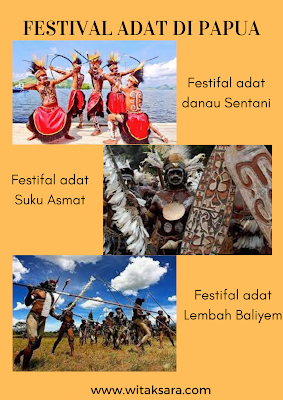 festival adat papua