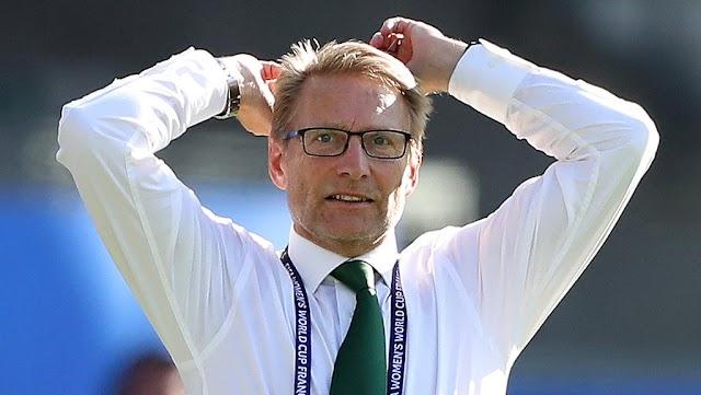 Nigeria Super FAlcons Coach Thomas Dennerby Resigns As Head Coach