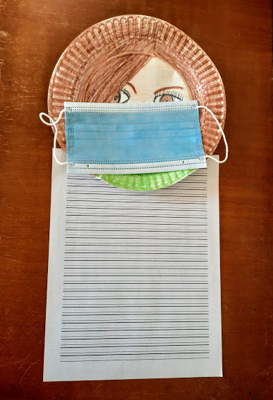 Make a Self Portrait After Reading Lucy's Mask