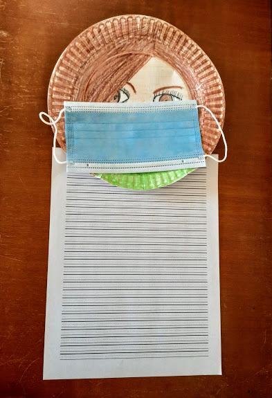 Self Portrait Lucy's Mask