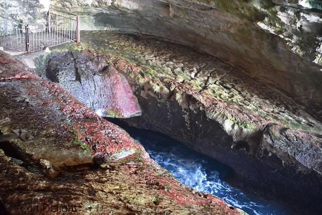 נקרות מרהיבות בראש הנקרה ישראל Rosh hanikra spectacular grottos