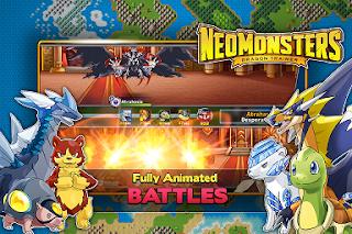 Neo Monsters Mod Apk v1.5.0 Monster Capture RPG Terbaru