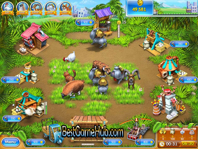 Farm Frenzy 3 High Compressed PC Game Free Download