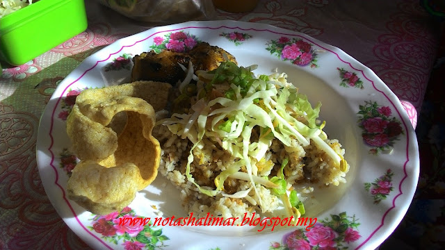 WORDLESS WEDNESDAY : NASI KERABU