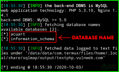 How to Install and Use SQLmap in Termux - 2020