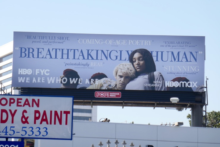 We Are Who We Are FYC billboard
