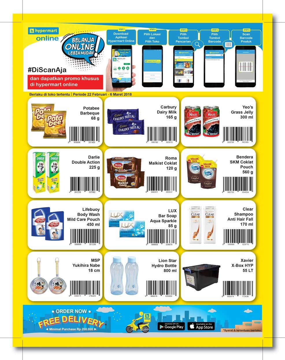 Katalog Promo Hypermart Terbaru Periode 22 Februari 06 Maret 2018 Voucher Belanja