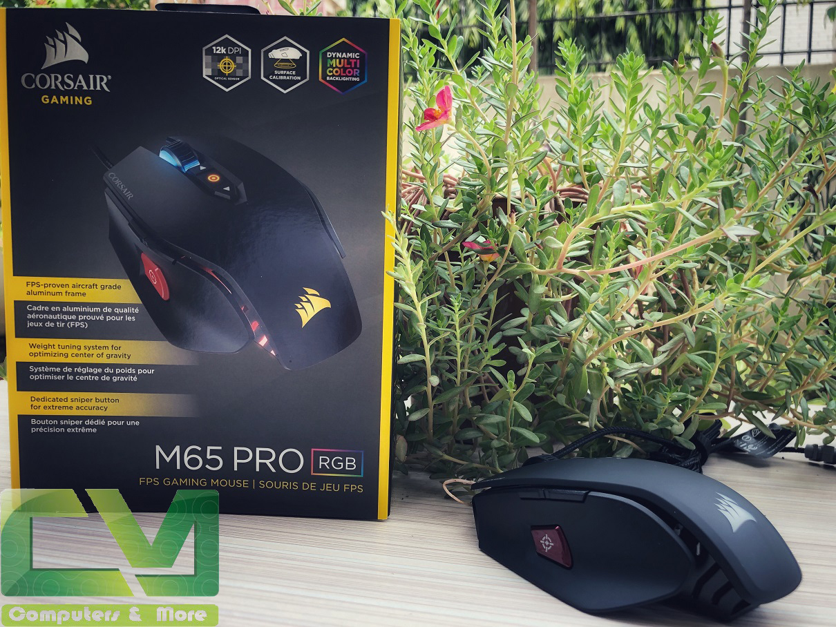 Corsair M65 Pro RGB Review ~ Computers and More | Reviews
