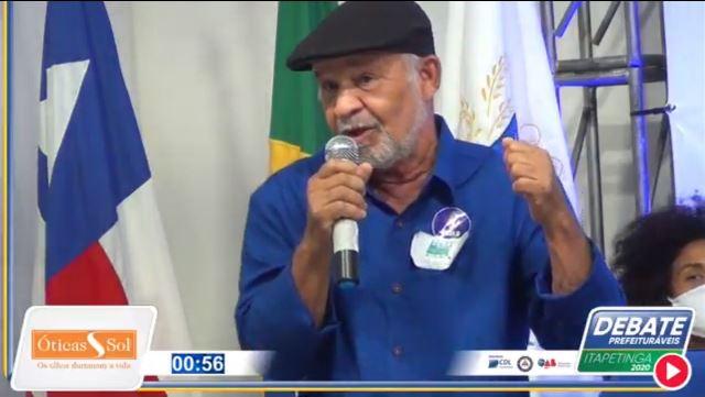 Candidato Paulo da Geladeira