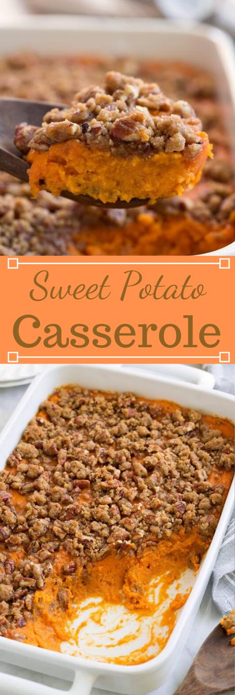 Sweet Potato Casserole #vegetarian #easy #food #cauliflower #potato