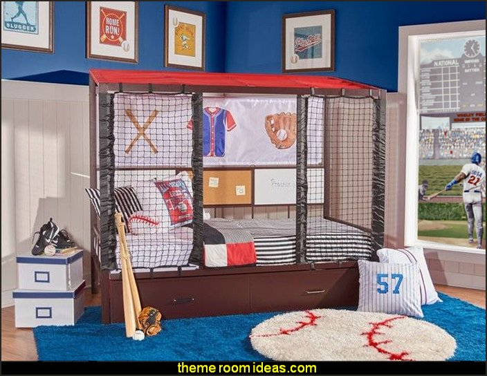 Decorating Theme Bedrooms Maries Manor Baseball Bedroom