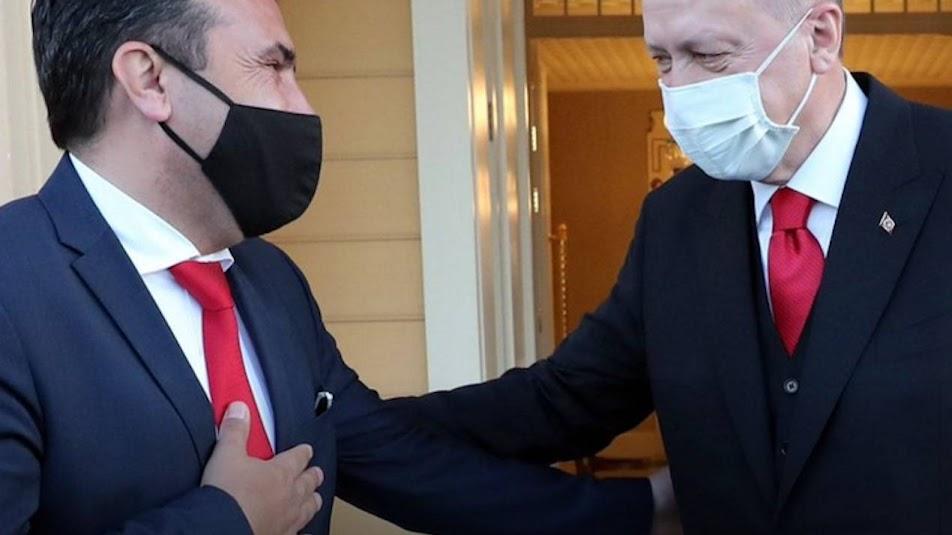 Η Τουρκία κυκλώνει την Ελλάδα και μέσω Σκοπίων