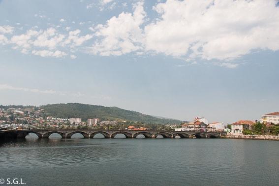 Puente del Burgo en Pontevedra. Galicia